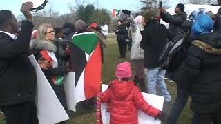 who are we Sudanese and we want justice in Sudan:Sudanese at congress 2/16/2019