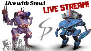 War Robots - Live with Stew! Mender, Bulwark, Falcon, and More!