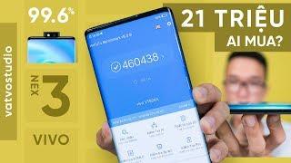 Mở hộp Vivo NEX 3: màn hình 99.6%, cấu hình khủng