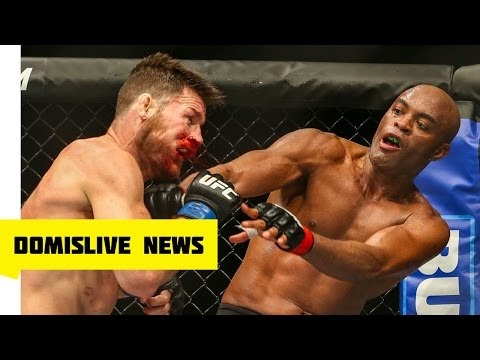 Anderson silva vs Michael Bisping UFC...