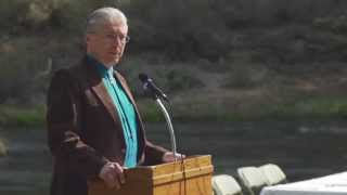 Klamath Tribes Chairman Don Gentry - UKBCA Signing Ceremony