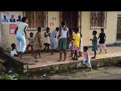 Equatorial Guinea children's street dance