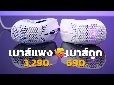 กู (ไม่) รู้ ! เมาส์เกมมิ่งถูก 690. vs เมาส์เกมมิ่งแพง 3,290 บาท แบบไหนดี!? (สายรู)