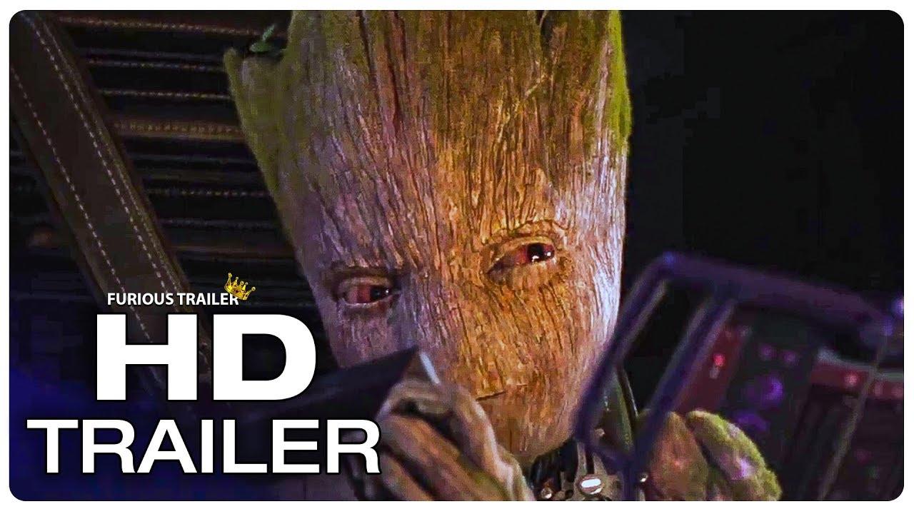 Download AVENGERS INFINITY WAR Angry Teen Groot Trailer NEW (2018) Marvel Superhero Movie Trailer HD