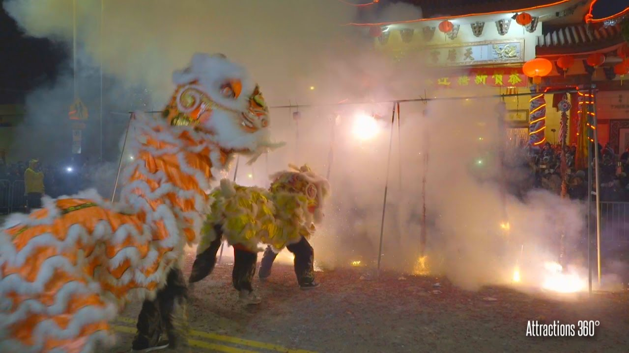 hd thousands of firecrackers with lions chinese new year 2017 chinatown los angeles youtube - Chinese New Year Los Angeles
