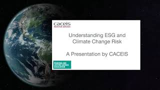 CACEIS : Understanding ESG and Climate Change - PLSA Conference 2021
