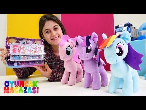Oyun Videosu. My Little Pony Baloya Hazırlanıyor. Oyuncak Mağazası.