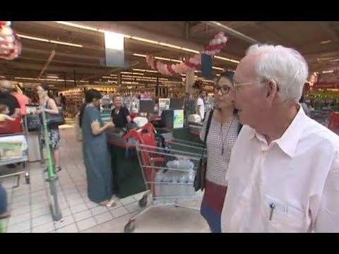 À Roncq (Nord) Gérard Mulliez Fête Les 50 Ans Du Premier Magasin Auchan