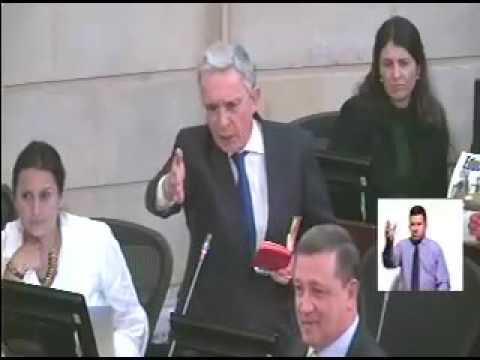 Intervención del Senador Álvaro Uribe 16 de agosto de 2016