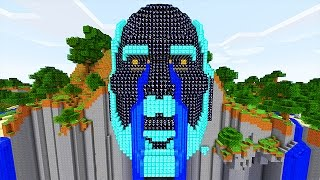 LUCKY BLACK BLOCKS TEMPLE OF NOTCH MOD CHALLENGE - MINECRAFT MODDED MINI-GAME!