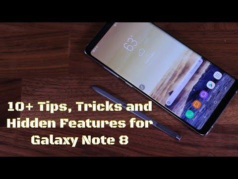 10+ Samsung Galaxy Note 8 Tips, Tricks & Hidden Features