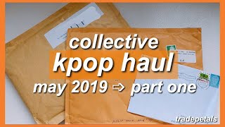 collective kpop haul #4 💌; may 2019 part one (ateez signed album, svt, dreamcatcher 'nd more!)