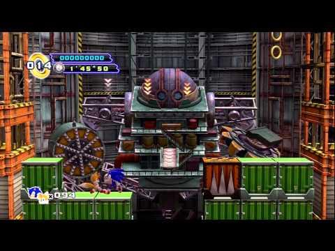Sonic the Hedgehog 4: Episode II - Oil Desert Boss |