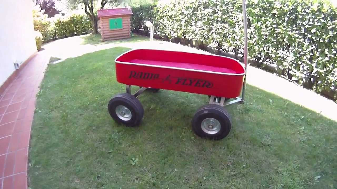 Radio Flyer Wagon Big Red Classic Atw Fatto In Casa Youtube