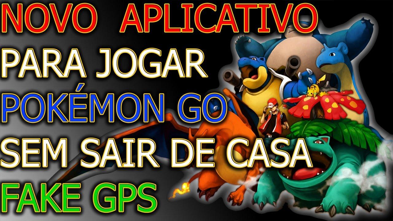 COMO JOGAR POKEMON GO USANDO LOCALIZAÇÃO FALSA - FLY GPS FUNCIONANDO ANDROID