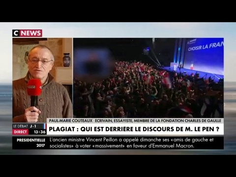 Clémenceau, Churchill, Fillon... Marine Le Pen