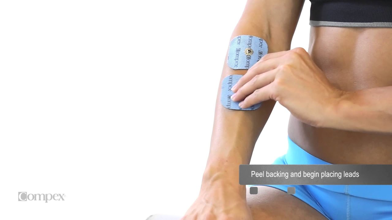 Extensor Of Wrist And Fingers Electrode Placement For Compex Muscle
