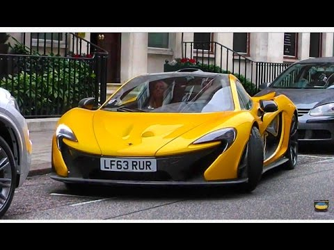 Insane Yellow Mclaren p1 Accelerating in London !!! - YouTube