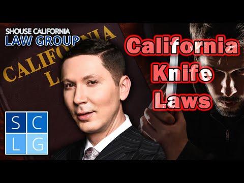 California Knife Laws (a former D A  explains)