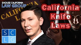 California Knife Laws -- A former D.A. explains