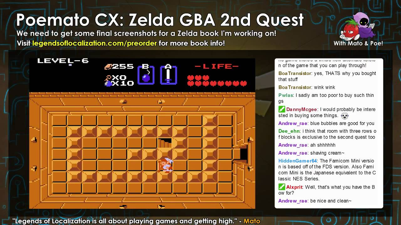 <b>Zelda</b> GBA, 2nd Quest #4 - Wizzrobes HATE <b>Cheat Codes</b> - YouTube
