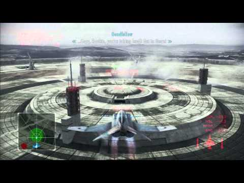 Ace Combat Infinity: Campaign Mission 4 Stonehenge ( PS3 / 1080p )