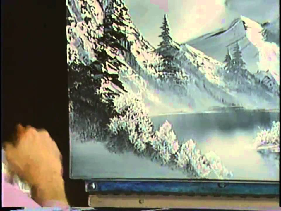 c4586d78d Bob Ross: The Joy of Painting - A Cold Winter Scene - YouTube