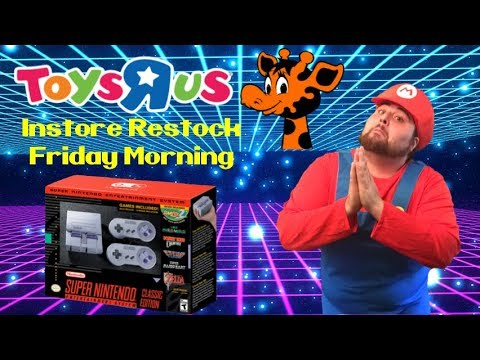 SNES Classic Edition Restock At Toys R Us October 27