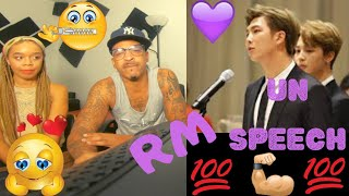 BTS - RM UN SPEECH - KITO ABASHI REACTION