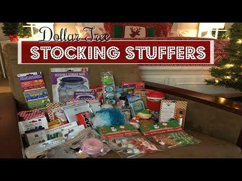 DOLLAR TREE HAUL | STOCKING STUFFERS!!! | 2017