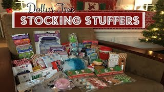 DOLLAR TREE HAUL | STOCKING STUFFERS!!! | 2017