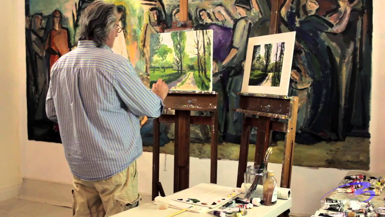 A Clip From My Online Art Classes - Impressionism - YouTube