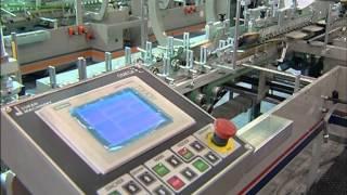 Omega Allpro Katlama Yapıştırma Makinası - Isra Vision Baskı denetleme sistemi ile birlikte