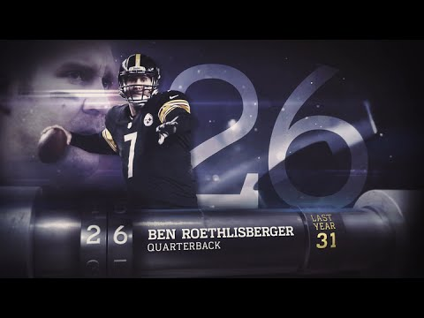 #26 Ben Roethlisberger (QB, Steelers) | Top 100 Players of 2015