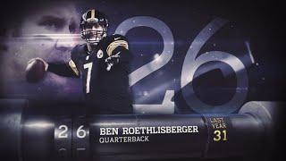#26 Ben Roethlisberger (QB, Steelers) | Top 100 Players of 2015