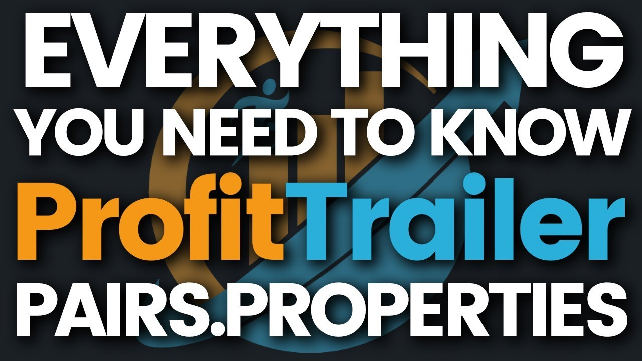 ProfitTrailer Settings Files - PAIRS