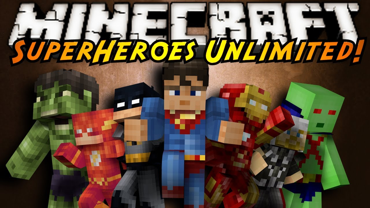 minecraft mod showcase superheroes