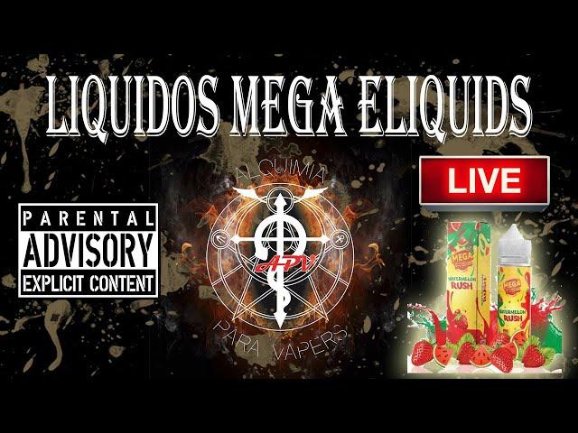 APV 158. Revisión de líquidos MEGA E-Liquids