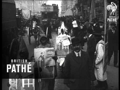 Suffragette Rally London Aka Suffragettes Help The War Effort (1915)