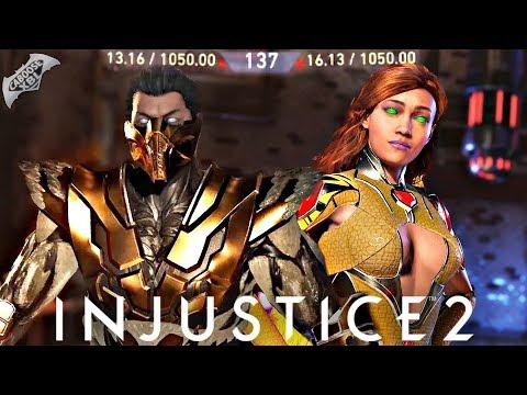 Injustice 2 Online - SUPER CLOSE MATCHES!