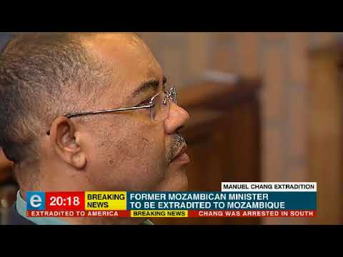Mozambique's Former Finance Minister To Be Extradited