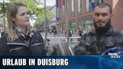 Urlaub in Zeiten von Corona: Auf geht's nach Duisburg! (Hazel Brugger) | heute-show vom 22.05.2020