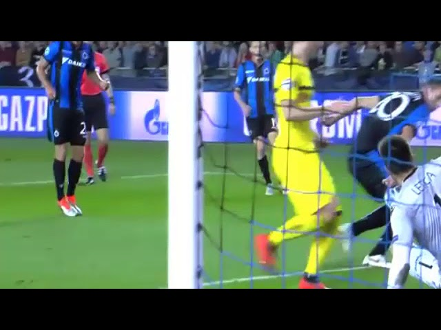 Club Brugge vs Dortmund 0-1 Highlights