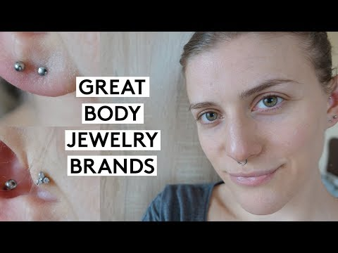 Great & Frugal Body Jewelry Brands