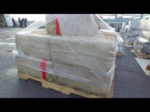 Coast Guard brings home record cocaine haul
