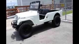 1965 Jeep Tuxedo Park Long wheelbase jeep. CJ-6A