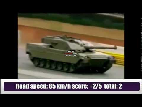 TOP 13 modern tanks in the world