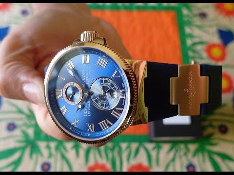 часы ulysse nardin le locle копия классических