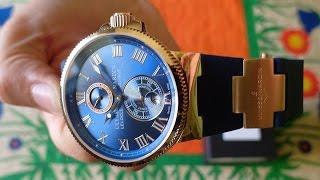 видео Купить мужские копии наручные часы ulysse nardin