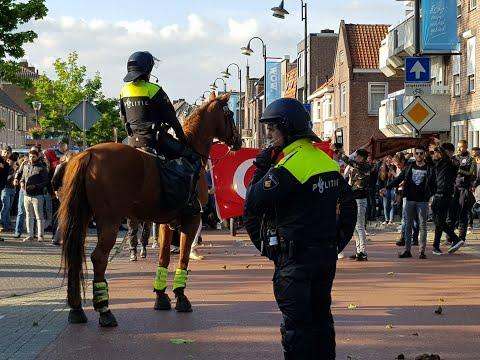 Ongeregeldheden demonstratie Pegida in Eindhoven 26-5-2019